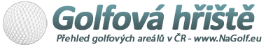 Golfová hřiště – mapa golfových hřišť v ČR